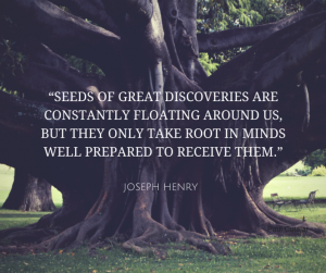 Seeds of Great Discovery